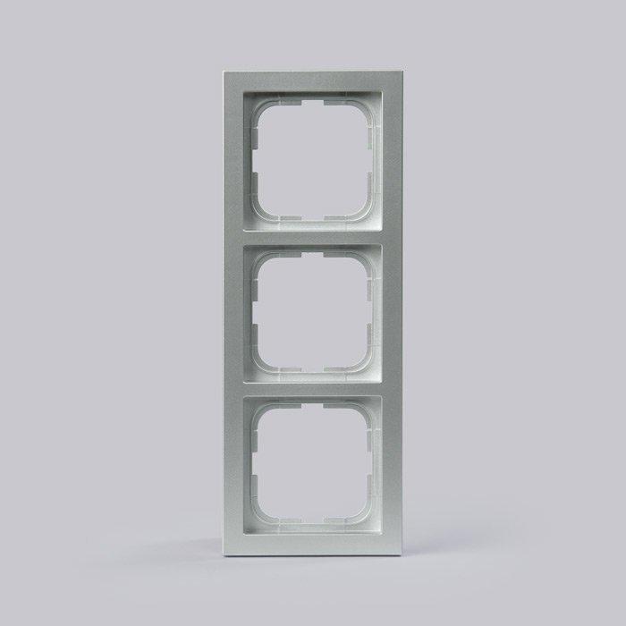 Peitelevy Impressivo alumiini 3-osainen 85mm