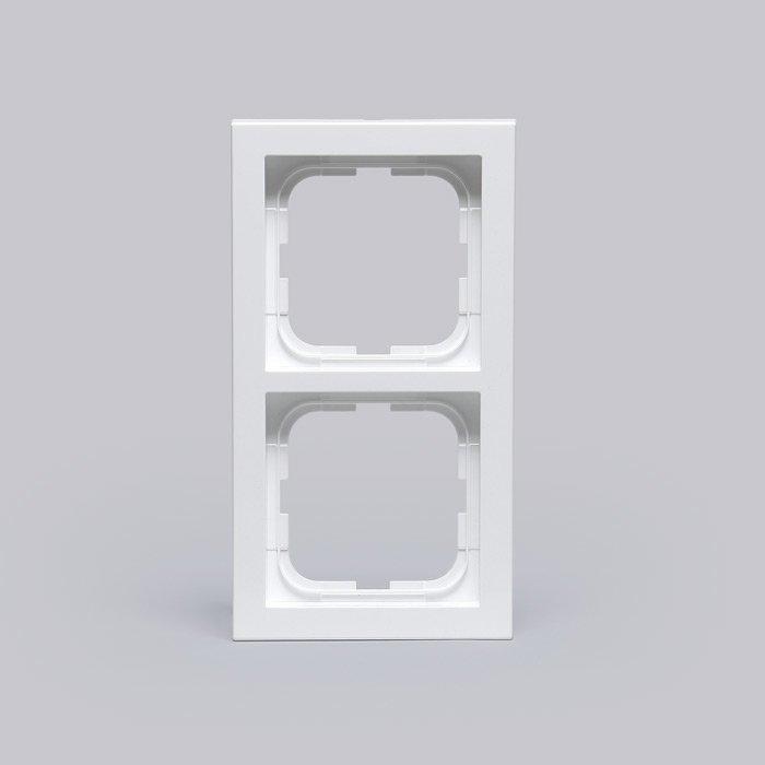 Peitelevy Impressivo valkoinen 2-osainen 85mm