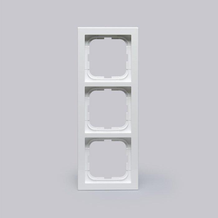 Peitelevy Impressivo valkoinen 3-osainen 85mm
