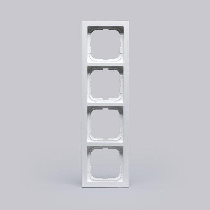 Peitelevy Impressivo valkoinen 4-osainen 85mm