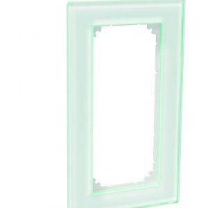 Peitelevy avoin 1-osainen lasi valkoinen Exxact Solid
