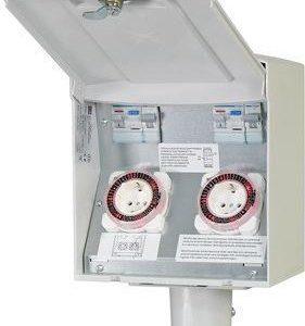 Pihakeskus PIKE PRO 2TL 2A 2V valolla