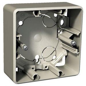Pinta-asennusrasia 1-osainen 35 mm metalli Exxact