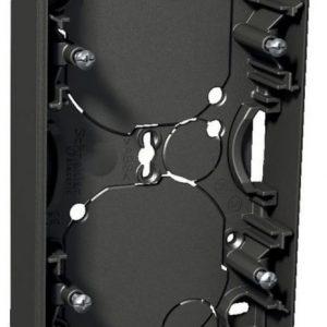 Pinta-asennusrasia 2-osainen 21 mm antrasiitti Exxact