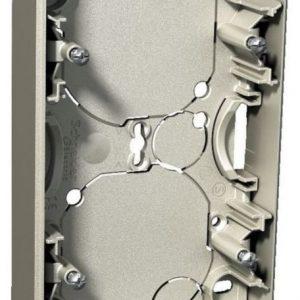 Pinta-asennusrasia 2-osainen 21 mm metalli Exxact