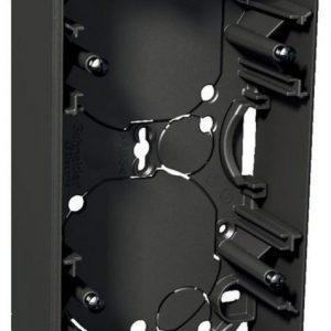 Pinta-asennusrasia 2-osainen 35 mm antrasiitti Exxact