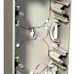 Pinta-asennusrasia 2-osainen 35 mm metalli Exxact