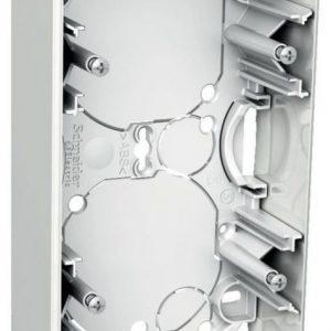 Pinta-asennusrasia 2-osainen 35 mm valkoinen Exxact