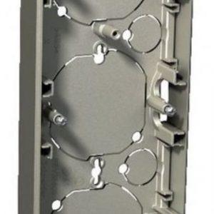 Pinta-asennusrasia 3-osainen 21 mm metalli Exxact