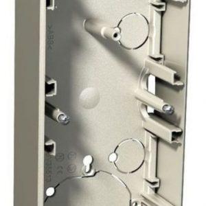 Pinta-asennusrasia 3-osainen 35 mm metalli Exxact
