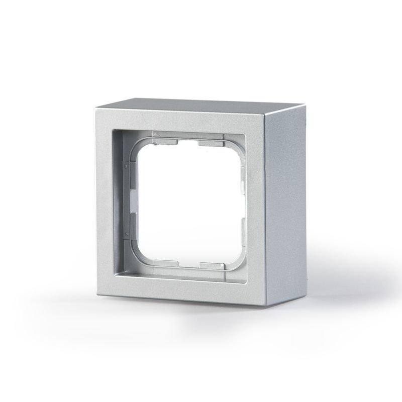 Pintakehys Impressivo 1-osainen 85mm h='40mm' alumiini