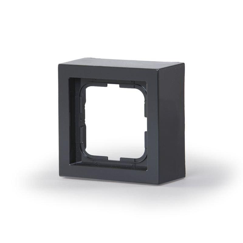 Pintakehys Impressivo 1-osainen 85mm h=40mm antrasiitti
