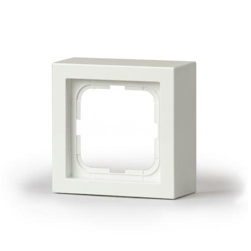 Pintakehys Impressivo 1-osainen 85mm h='40mm' valkoinen