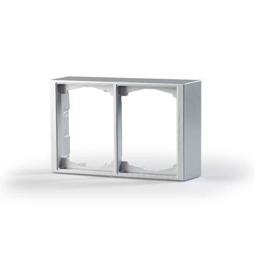 Pintakehys Impressivo 2-osainen 100mm h='40mm' alumiini