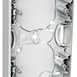 Pintakojerasia 2-osainen 21 mm valkoinen Exxact