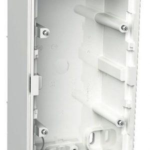Pintakojerasia 2-osainen IP44 30 mm valkoinen Exxact