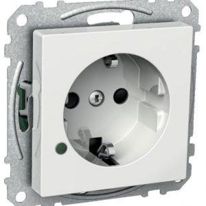 Pistorasia 1-osainen UKJ LED valkoinen Exxact