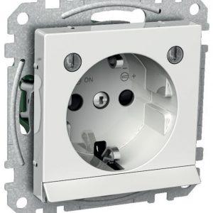 Pistorasia 1-osainen UPJ LED AV valkoinen Exxact