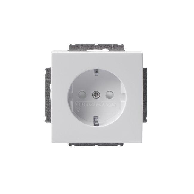Pistorasia Impressivo 1S/16A/IP21 UKJ 0X valkoinen
