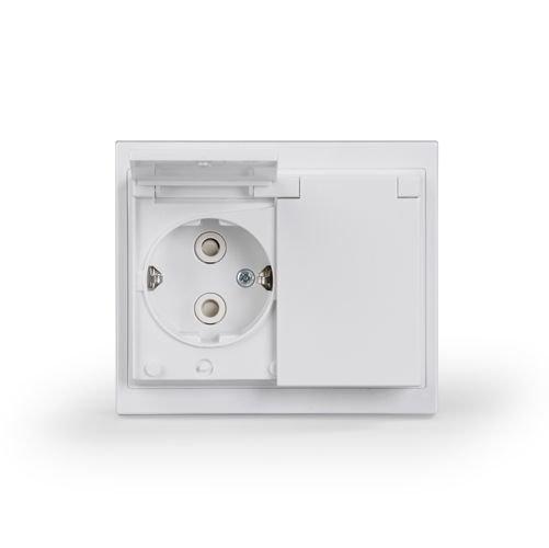 Pistorasia Impressivo 2S/16A/250V/IP44 UPJ 0X valkoinen