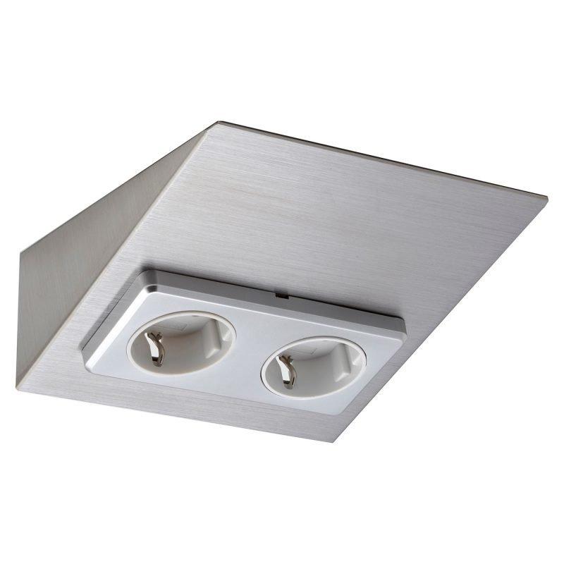 Pistorasia Limente Mini-2 16 A 230 V IP20 150x164 mm 2-osainen RST