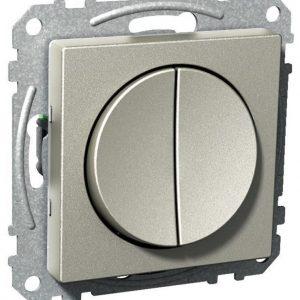 Pyöreä kytkin 5-napainen UKJ metalli Exxact