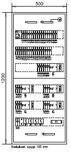 Ryhmäkeskus IP30 Bulldog 3854+SLY1.2 J