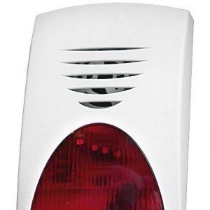 Sisäsireeni 109 dB punainen vilkku PS-231L