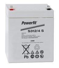 Suljettu AGM-akku Exide Powerfit S312/4 S