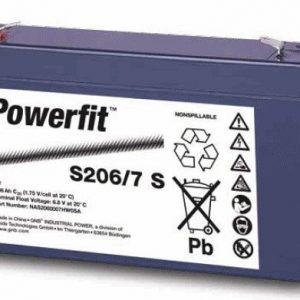 Suljettu geeliakku S200 Powerfit S2121