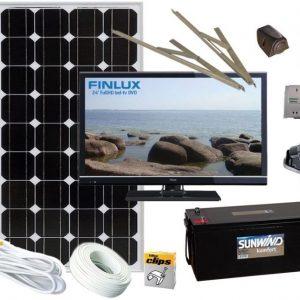 TV-paketti Sunwind + LED-TV dvd-soittimella