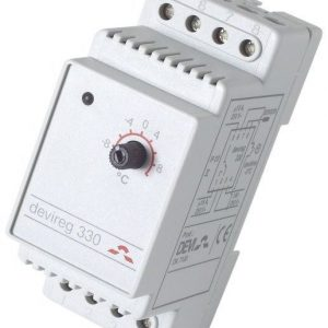 Termostaatti Devireg 330 -10..+10C 16 A