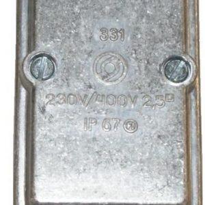 Vaihtorasia 2X16 tiiviste Metalliväri SIL