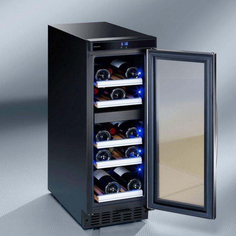 Viinikaappi Dometic D15 kahden lämpötilan