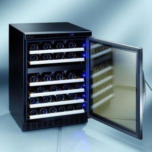 Viinikaappi Dometic D50 kahden lämpötilan