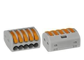 Vipurasialiitin WAGO 222-415 5-osainen 0.08-4mm2