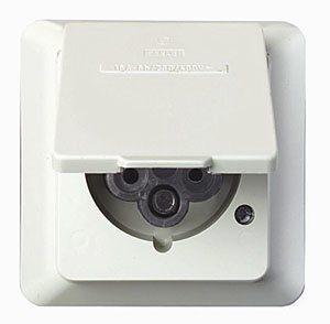Voimapistorasia IP44 16A 230/400V uppoasennettava