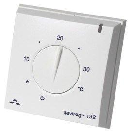 Yhdistelmätermostaatti Devireg 132 +5-+35 °C