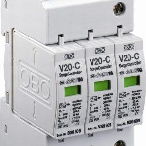 Ylijännitesuoja kiinteistö V20-C 3-280 T2 3L+PEN
