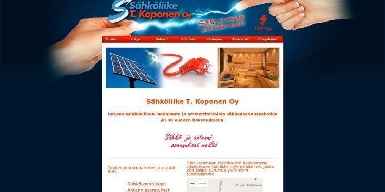 Sähköliike T. Koponen Oy
